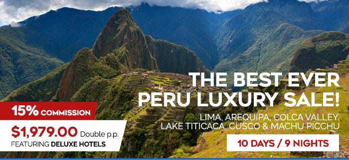 Last Minute Peru Sale