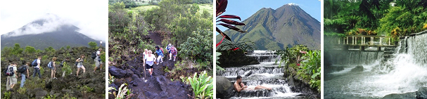 Arenal Volcano & Tabacon Hot Springs Tour