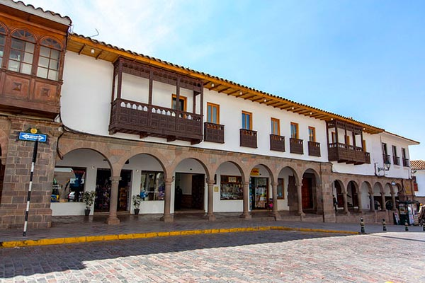 casa andina standard cusco plaza hotel is located in cusco