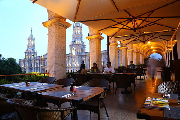 casa andina select arequipa hotel is located in peru