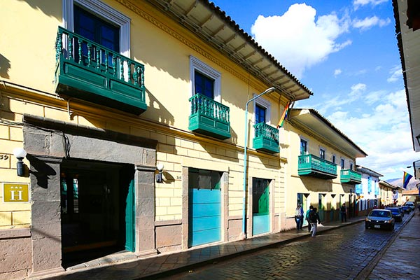 casa andina standard cusco koricancha hotel is located in