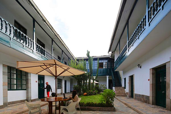 casa andina standard cusco koricancha hotel is located in