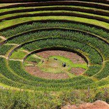 Moray, Sacred Valley of the Incas, Cusco, Peru